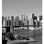 MANHATTAN GRAY fotótapéta, poszter, vlies alapanyag, 225x250 cm