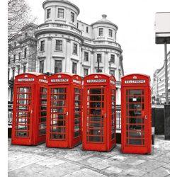 LONDON fotótapéta, poszter, vlies alapanyag, 225x250 cm