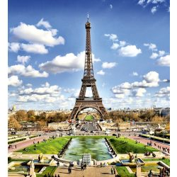 PARIS fotótapéta, poszter, vlies alapanyag, 225x250 cm