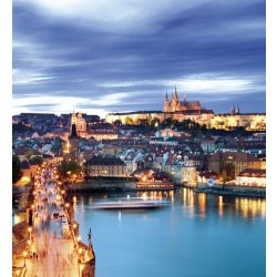 PRAGUE fotótapéta, poszter, vlies alapanyag, 225x250 cm