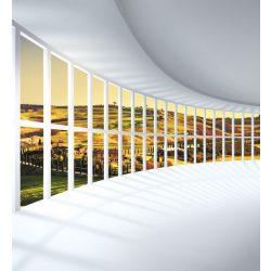 ROUNDED HALL fotótapéta, poszter, vlies alapanyag, 225x250 cm