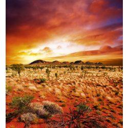 AUSTRALIAN LANDSCAPE fotótapéta, poszter, vlies alapanyag, 225x250 cm