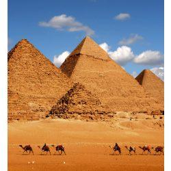 EGYPT PYRAMID fotótapéta, poszter, vlies alapanyag, 225x250 cm