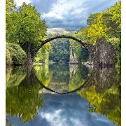 ARCH BRIDGE fotótapéta, poszter, vlies alapanyag, 225x250 cm