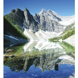 LAKE AGNES fotótapéta, poszter, vlies alapanyag, 225x250 cm