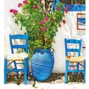 TRADITIONAL GREECE fotótapéta, poszter, vlies alapanyag, 225x250 cm