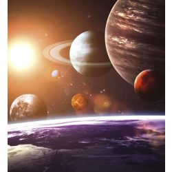 SOLAR SYSTEM fotótapéta, poszter, vlies alapanyag, 225x250 cm
