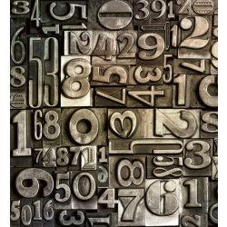 TYPESET fotótapéta, poszter, vlies alapanyag, 225x250 cm