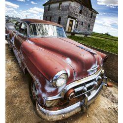 VETERAN CAR fotótapéta, poszter, vlies alapanyag, 225x250 cm