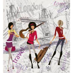 LONDON STYLE fotótapéta, poszter, vlies alapanyag, 225x250 cm