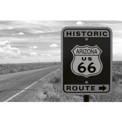 HISTORIC ROUTE fotótapéta, poszter, vlies alapanyag, 375x250 cm