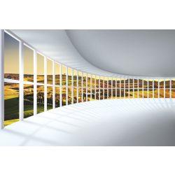 ROUNDED HALL fotótapéta, poszter, vlies alapanyag, 375x250 cm