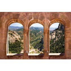 ARCH WINDOW fotótapéta, poszter, vlies alapanyag, 375x250 cm