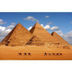 EGYPT PYRAMID fotótapéta, poszter, vlies alapanyag, 375x250 cm
