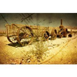 OLD WAGON fotótapéta, poszter, vlies alapanyag, 375x250 cm