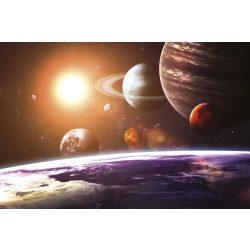 SOLAR SYSTEM fotótapéta, poszter, vlies alapanyag, 375x250 cm