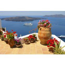 GREECE fotótapéta, poszter, vlies alapanyag, 375x250 cm
