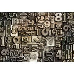 TYPESET fotótapéta, poszter, vlies alapanyag, 375x250 cm