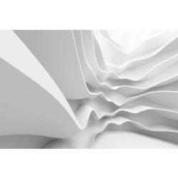 FUTURISTIC WAVE fotótapéta, poszter, vlies alapanyag, 375x250 cm
