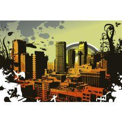 CITY fotótapéta, poszter, vlies alapanyag, 375x250 cm