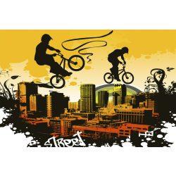 BICYCLE fotótapéta, poszter, vlies alapanyag, 375x250 cm