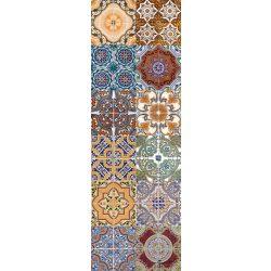 Orientális minta matrica csempére