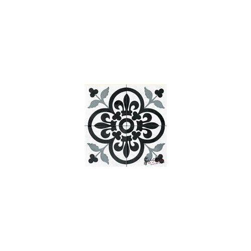 Fekete-fehér mintás matrica csempére - Tapéta és Poszter Webáruház A ... 04e2c78302