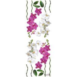 Virágok matrica falra, csempére, bútorra