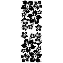 Virágok matrica üvegre és falra