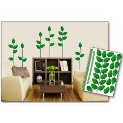 Green Plant öntapadós matrica