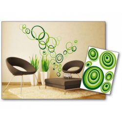 Green Circles öntapadós matrica