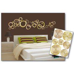Golden Rings öntapadós matrica