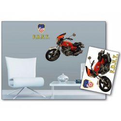 Motorcycle öntapadós matrica