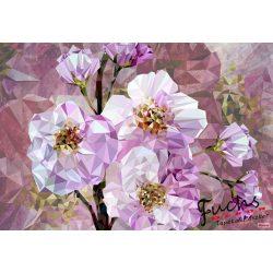 Blooming Gems vlies poszter, fotótapéta XXL4-064 /368x248 cm/