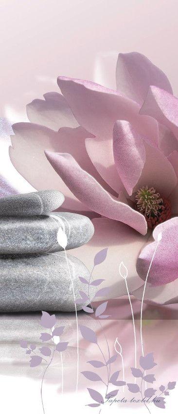 Zen Garden vlies poszter, fotótapéta 054VET /91x211 cm/