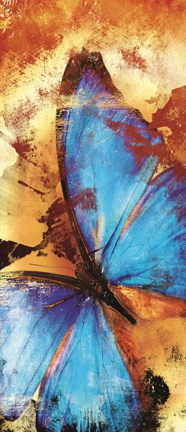 Pillangó vlies poszter, fotótapéta 192VET /91x211 cm/