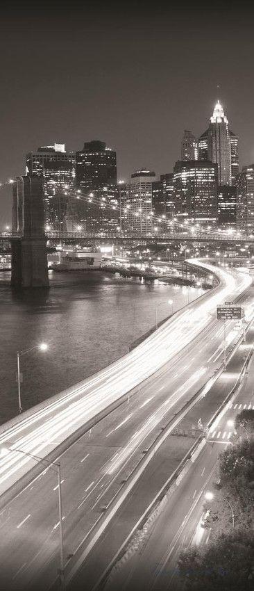 Brooklyn Bridge vlies poszter, fotótapéta 203VET /91x211 cm/