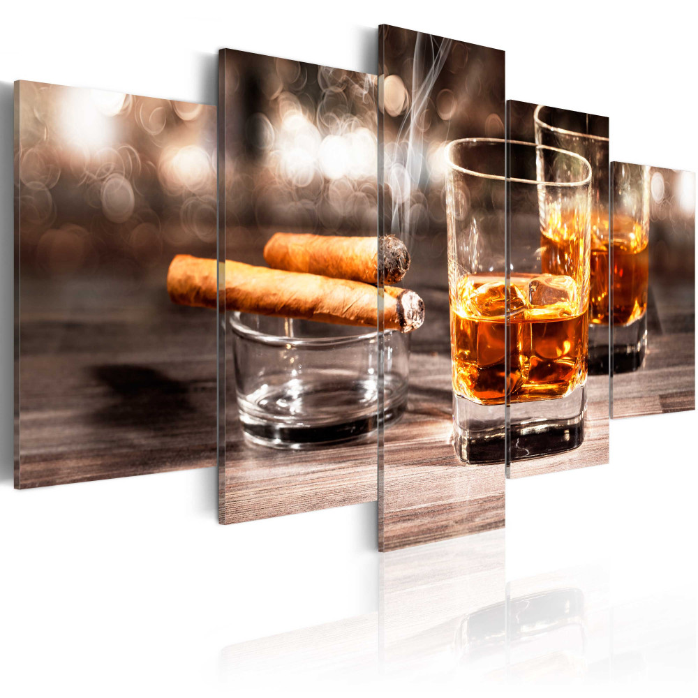 Kép - Cigar and whiskey