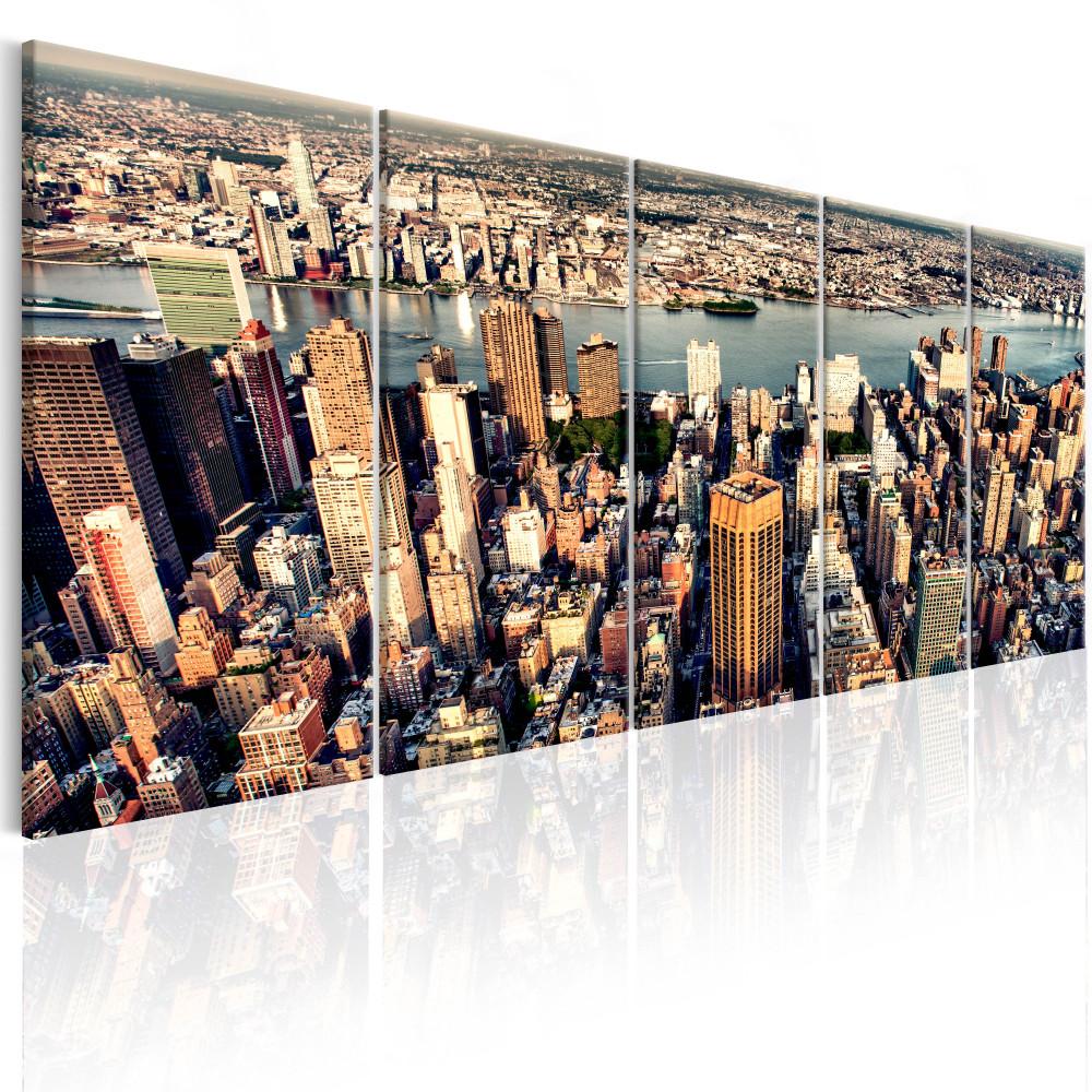 Kép - Flight over New York