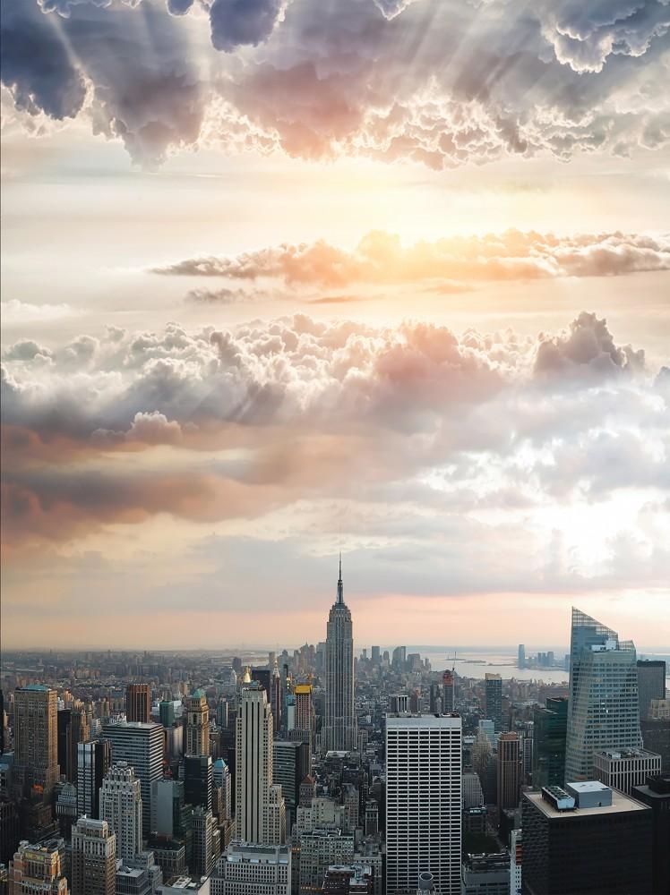 New York poszter, fotótapéta, Papír (184x254 cm, álló)
