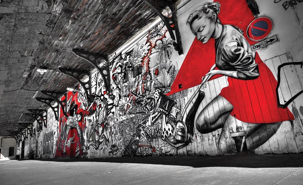 Graffiti poszter, fotótapéta (368 x 254 cm)