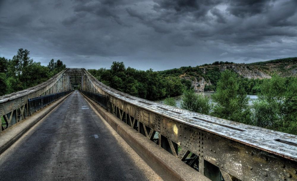 Híd poszter, fotótapéta (368 x 254 cm)