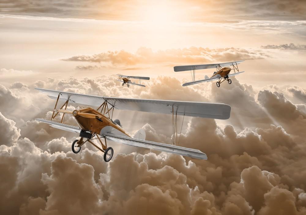 Repülők poszter, fotótapéta (368 x 254 cm)
