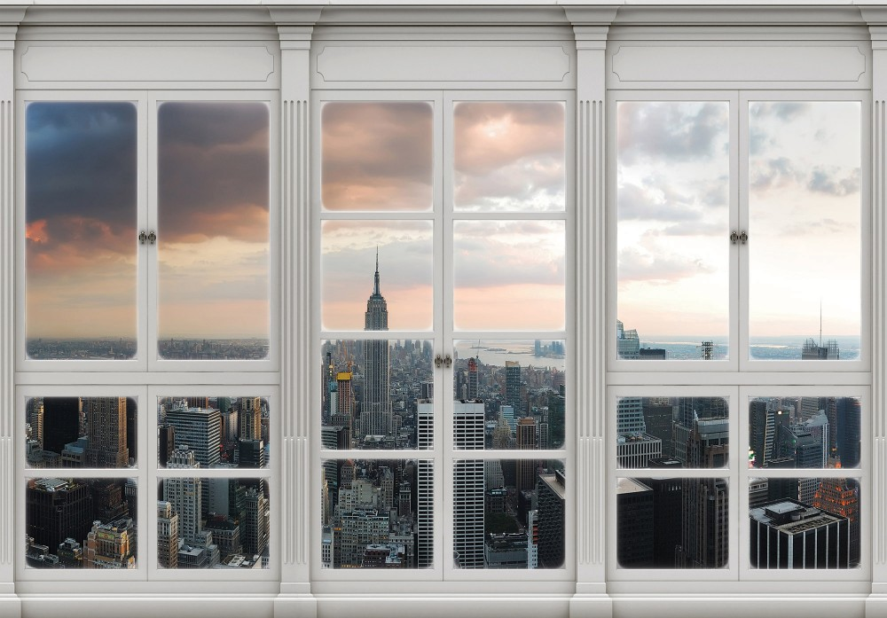 New Yorkra néző poszter, fotótapéta Vlies (368 x 254 cm)