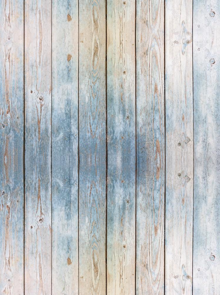 Kék fapalánk poszter, fotótapéta, Papír (184x254 cm, álló)