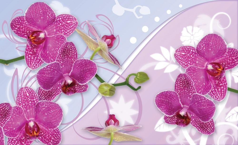 Virág minta poszter, fotótapéta 1207 több méretben, alapanyagban