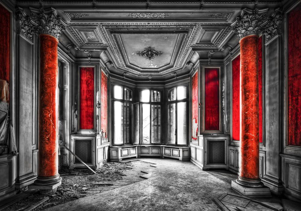 Romos kastély szoba fotótapéta több méretben, alapanyagban