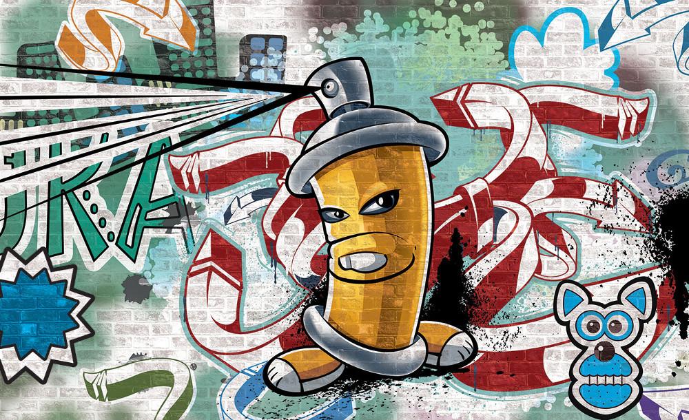 Graffiti poszter, fotótapéta több méretben, alapanyagban