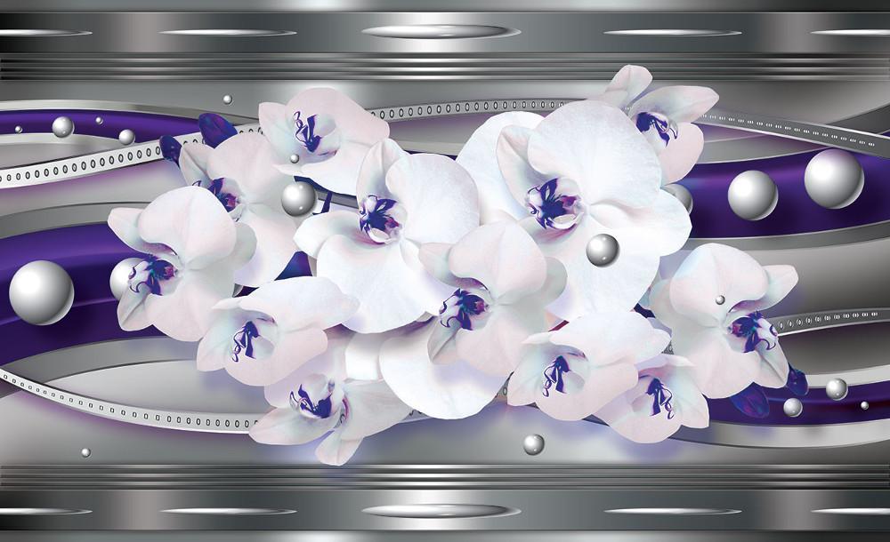 Orchidea poszter, fotótapéta 1566 több méretben, alapanyagban