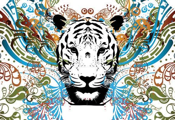 Tigris 2186 több méretben, alapanyagban